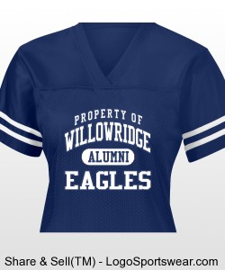 Ladies 2007 Alumni Jersey Design Zoom